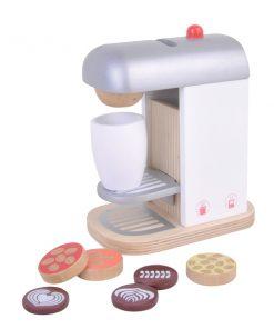 מכונת קפה צעצוע מעץ