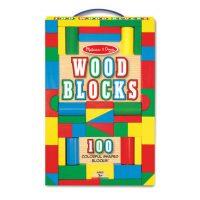 מארז 100 קוביות עץ צבעוניות