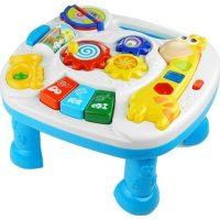 שולחן פעילות מוסיקלי לילדים