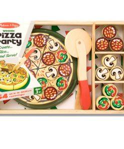 ערכה מעץ להכנת פיצה