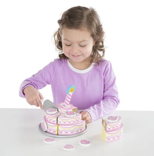 עוגת 3 שכבות חגיגית מעץ