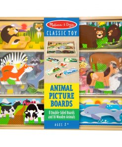 לוח משחק התאמת חיות