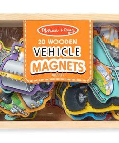 מגנטים מעץ כלי תחבורה