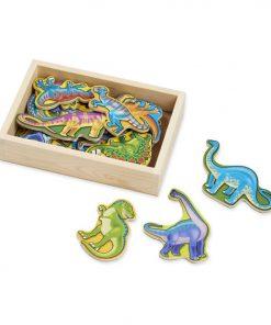 דמויות עץ מגנטי - דינוזאורים