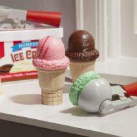 ערכה מעץ להכנת גביעי גלידה