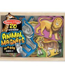 דמויות עץ מגנטי – חיות