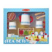 סט כלי תה מעץ