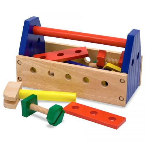 סט ארגז כלים מעץ