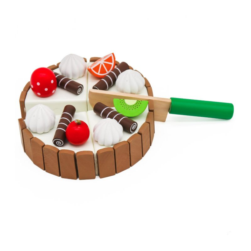 עוגת צעצוע מעץ לילדים