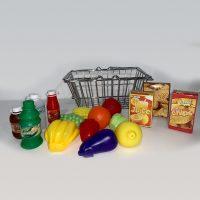 סט ירקות פירות צעצוע
