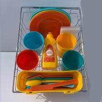 סט כלי מטבח פלסטיק