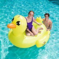 בובת ברווז מתנפחת לבריכה