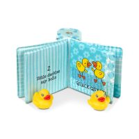 ספר אמבטיה עם צעצועי ברווזים מאת מליסה ודאג