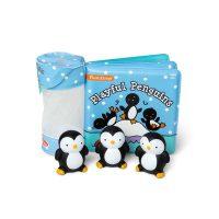 מליסה ודאג - ספר אמבטיה עם צעצועי פינגוונים