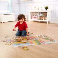 פאזל רצפה ענק לילדים הבנאי הקטן מליסה ודאג - 3
