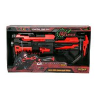 צעצוע רובה לילדים עם 10 חצים