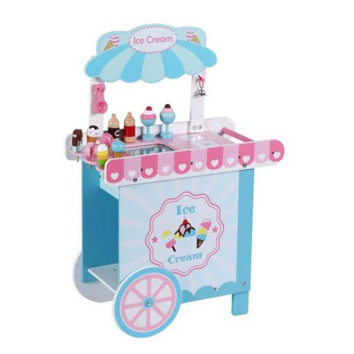 דוכן גלידה מעץ לילדים