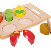 משטח חיתוך ירקות הכולל 6 חלקים