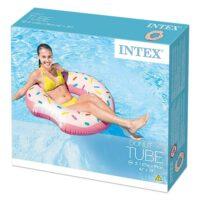 אבוב מתנפח לים ולבריכה בעיצוב דונאט מבית INTEX דגם 56265