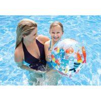 כדור ים מתנפח מעוצב לים ולבריכה בעיצובי קיץ מבית INTEX דגם 59040