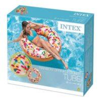 אבוב דונאט מודפס סוכריות דגם INTEX 56263