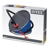 משאבה רגלית 5 ליטר מבית INTEX דגם 68610 לניפוח אביזרי ים, בריכה וקמפינג.