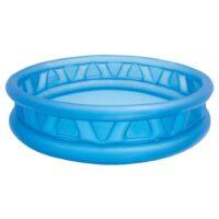 """בריכת פעילות מתנפחת לילדים, בעיצוב של קונוס בצבע כחול דגם אינטקס 58431 קוטר 188ס""""מ"""