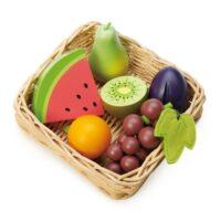 טנדר ליפ Tender Leaf - סלסלת פירות מעץ