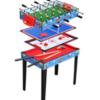 שולחן משחק לילדים 4 ב- 1 הכולל מגוון מצוין של משחקים למשפחה.